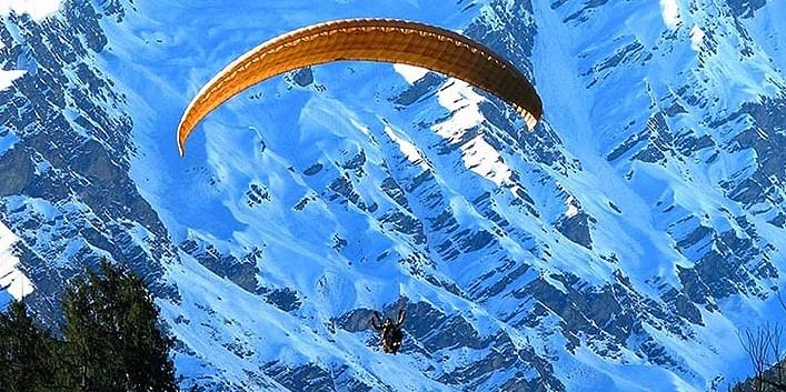 Paragliding in Sikkim