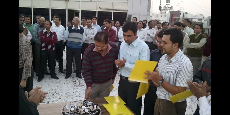 Adani Wilmar Group was one of the many Corporate Customers of Midnightcake for the Celebration of their Employees' Birthday