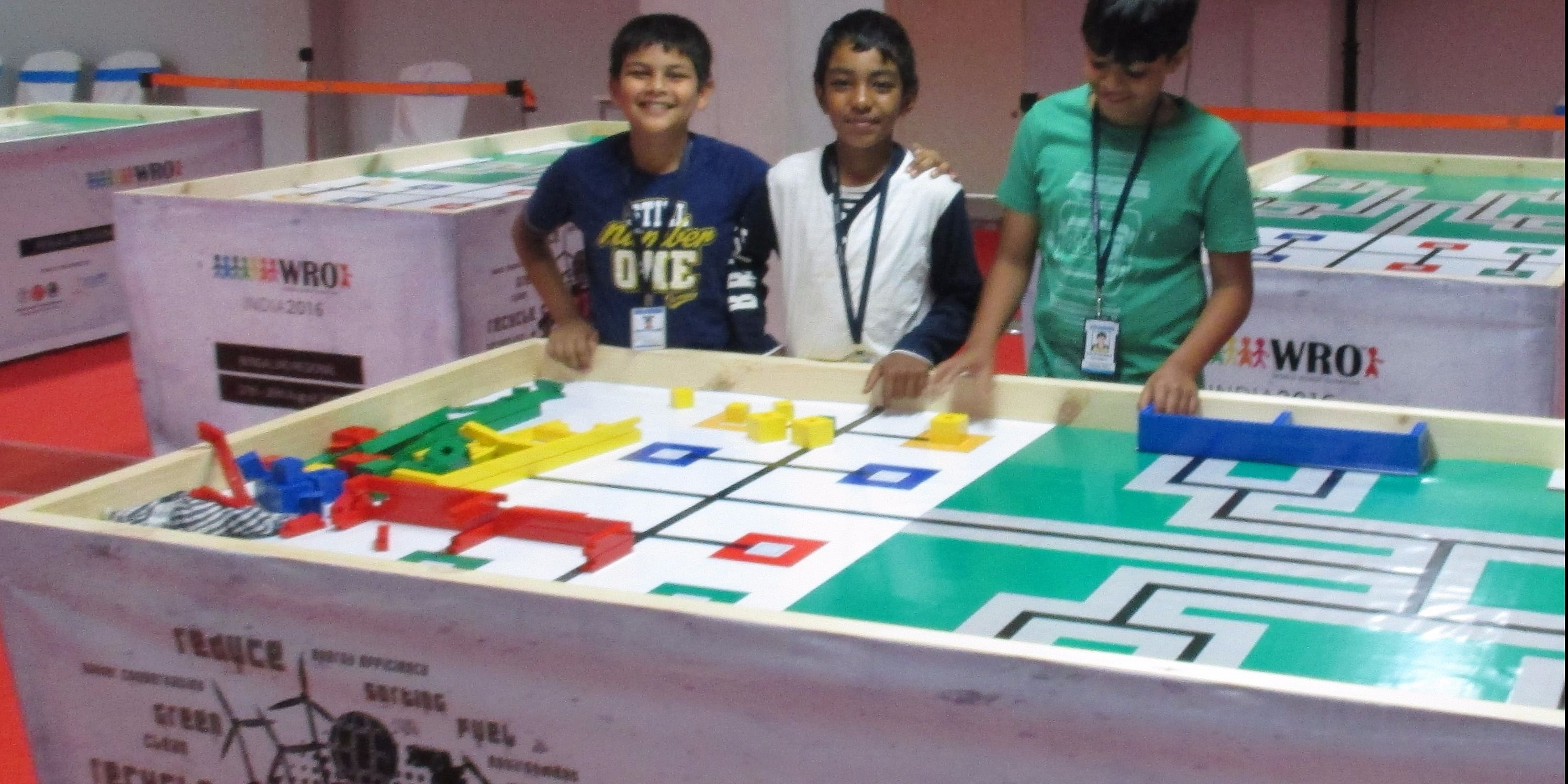 <h3>Aadi Sureka, Anirudh and Marc George - Qualified Regional Round and Entered National Championship<br></h3>