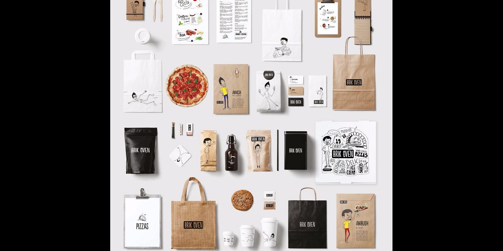 Branding for Brik Oven
