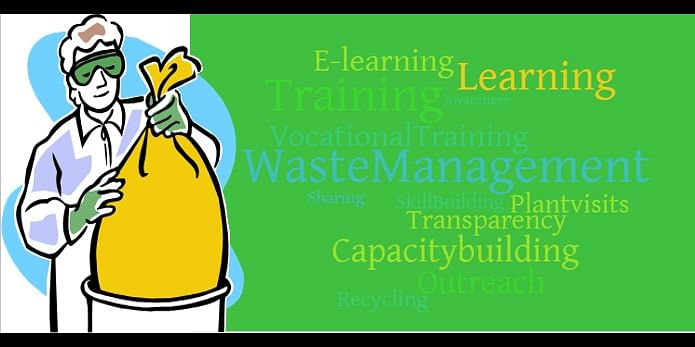 How can capacity building change the status of waste