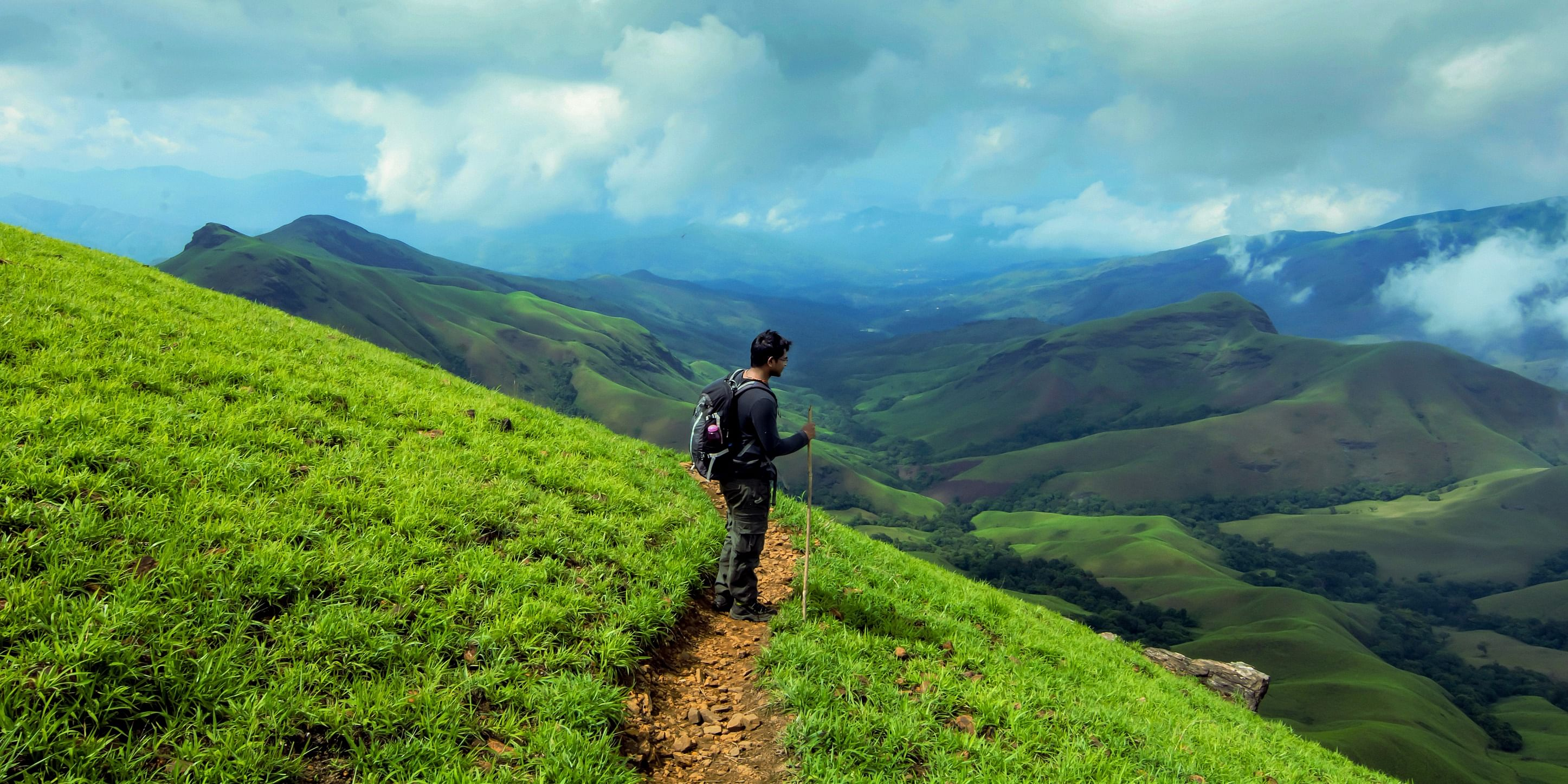 Kudremukh Mountains, Karnataka by <a href=
