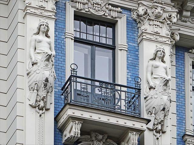 Riga buildings facades (Image credit: <a href=