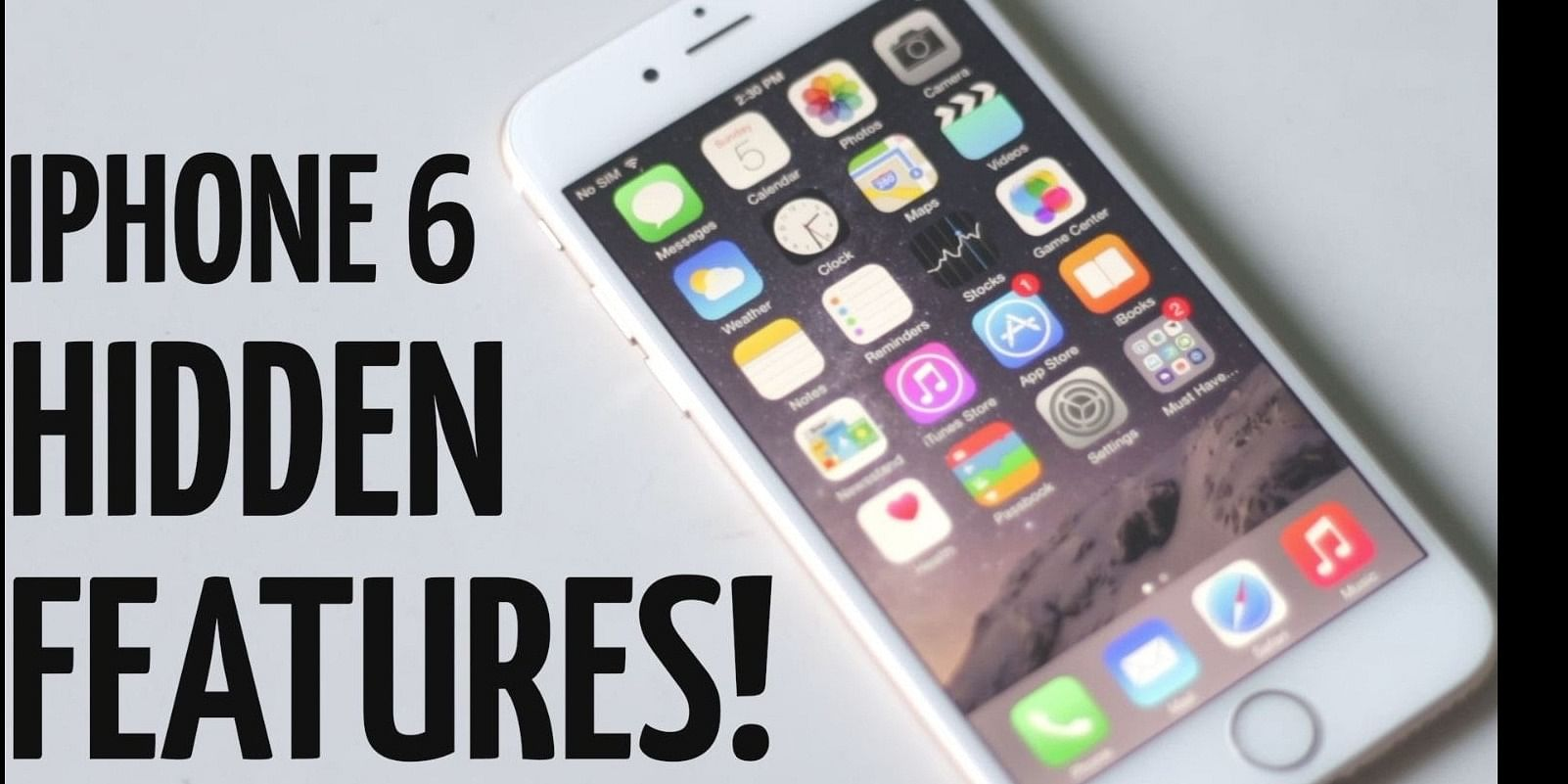 Know six surprising things about the iPhone 6