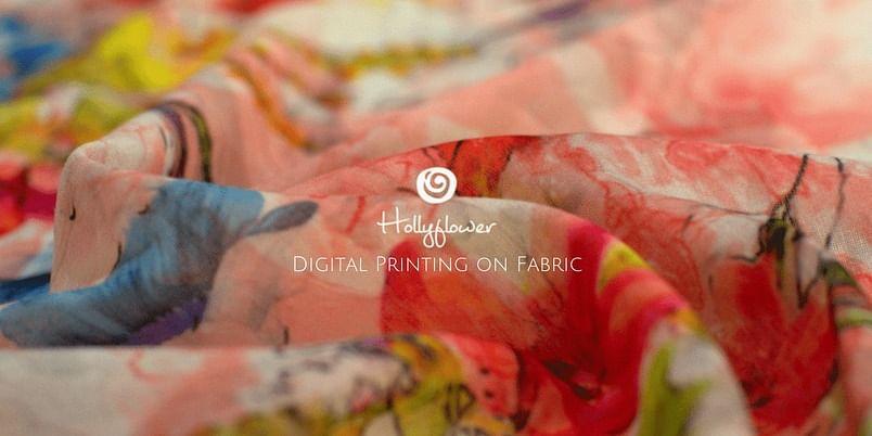 Hollyflower | Digital Printing on Fabric | Digital Textile Printing Machine