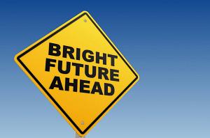 <b>Despite all this, the future is bright &nbsp;&nbsp;</b>