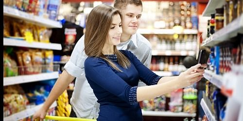 Couple doing Mystery Shopping for HS Brands