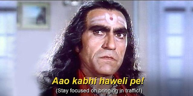 Stay focused on bringing in traffic