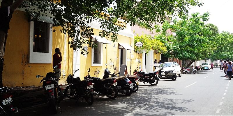 An afternoon at Pondicherry