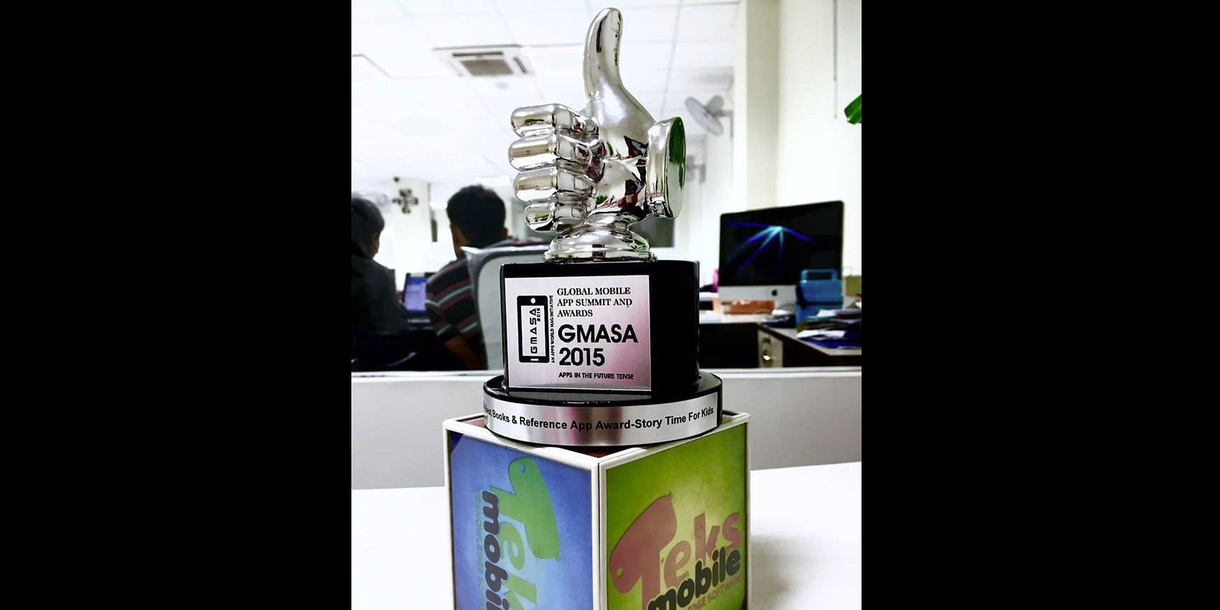 Winning Apps: GMASA 2015 award, bagged by Story Time For Kids