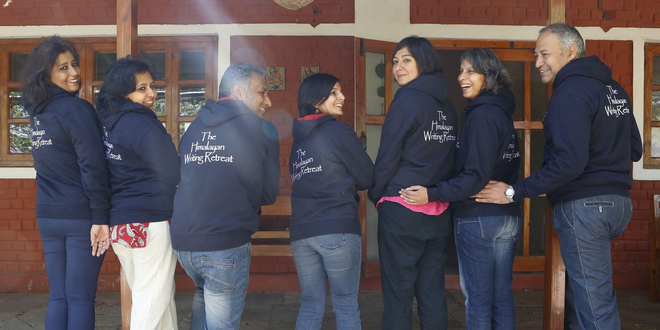 Participants at the Himalayan Writing Retreat<br>