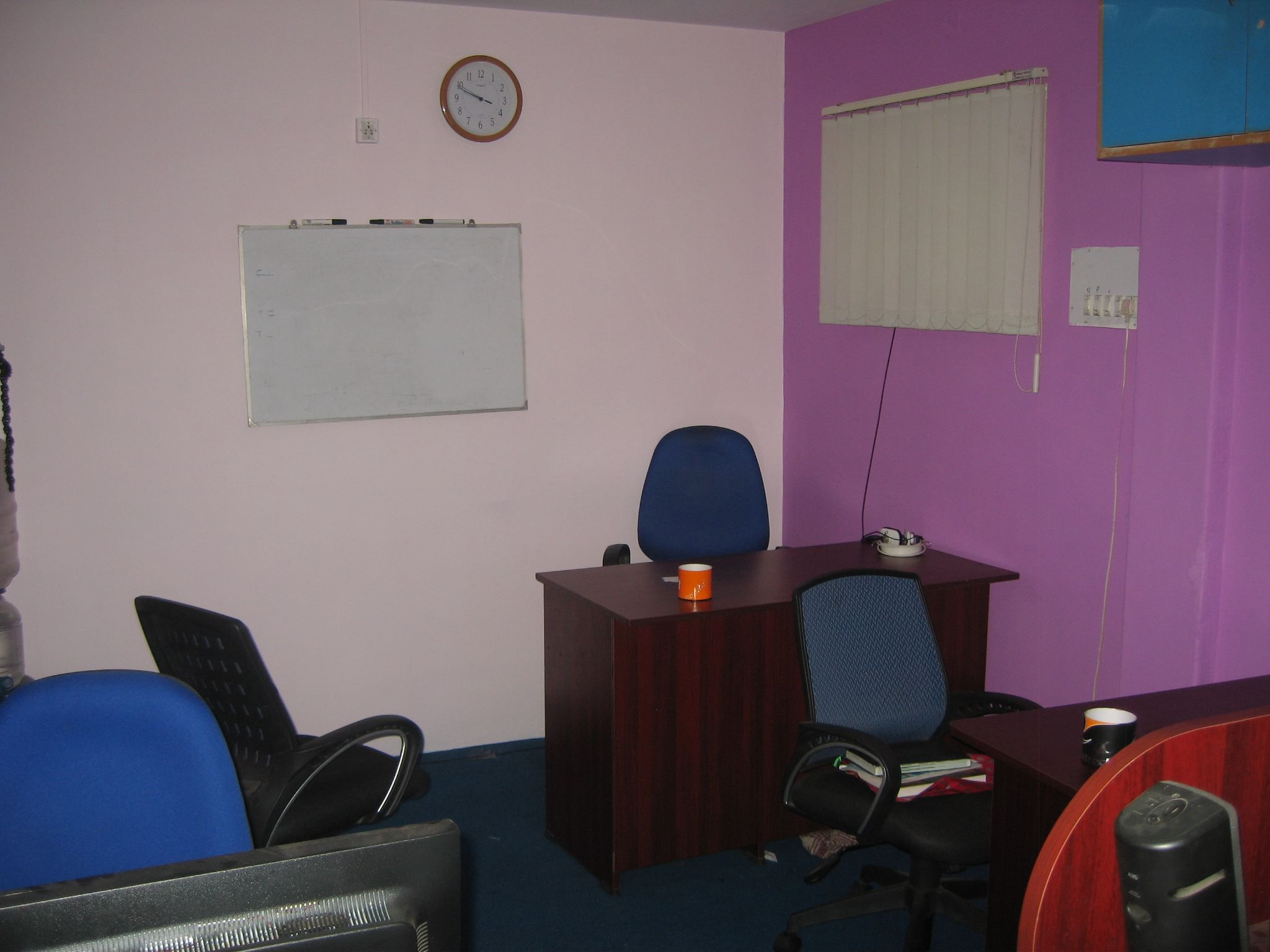 First office – a space that provided an entry for executing success plans (2012)<br>