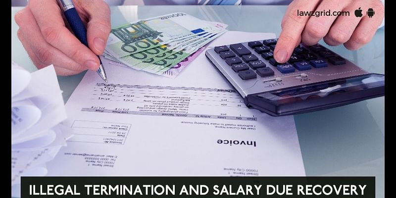 recover pending salaries from my ex-employer or Salary Due Recovery