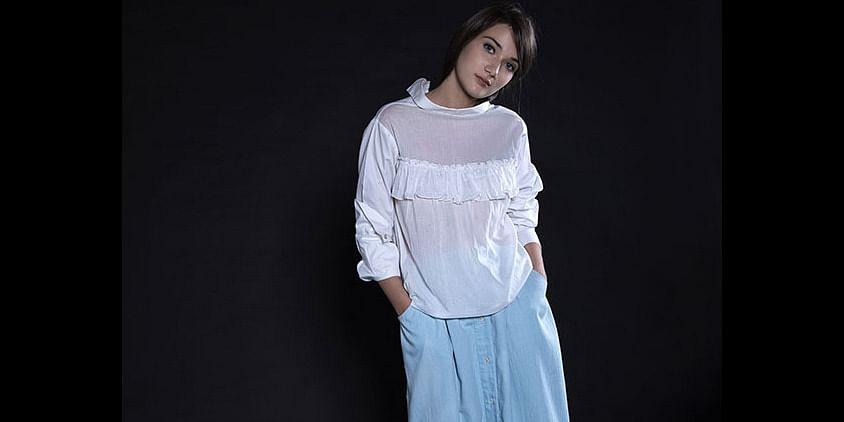 White ruffle shirts<br>