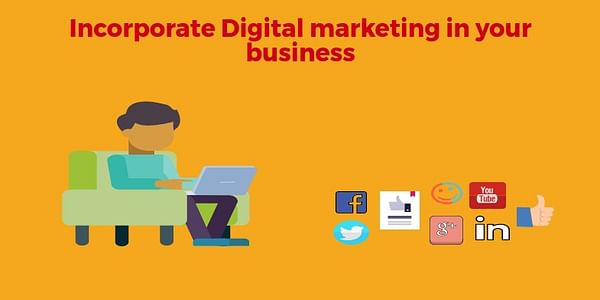 This article highlights the need to incorporate digital marketing strategies in our business. As people are getting, hooked to the internet, its easy to find your customers using digital marketing strategies.