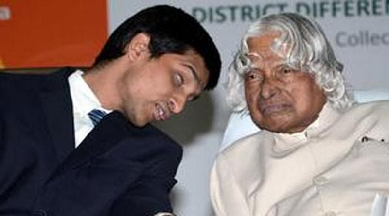 Srikanth working under 'Lead Project' along with Late President APJ Abdul Kalam