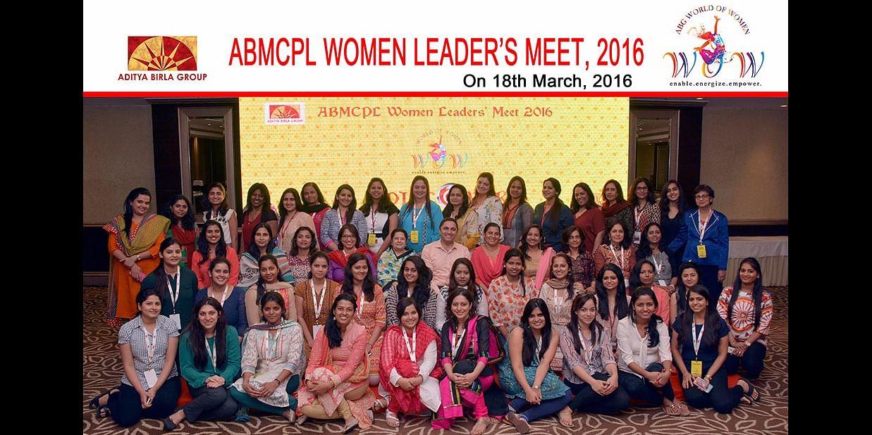 With Rajshri Birla and the Aditya Birla Group Women Leaders