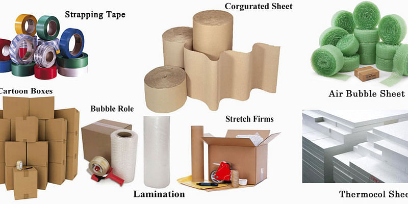 Packaging materials you already have in your house