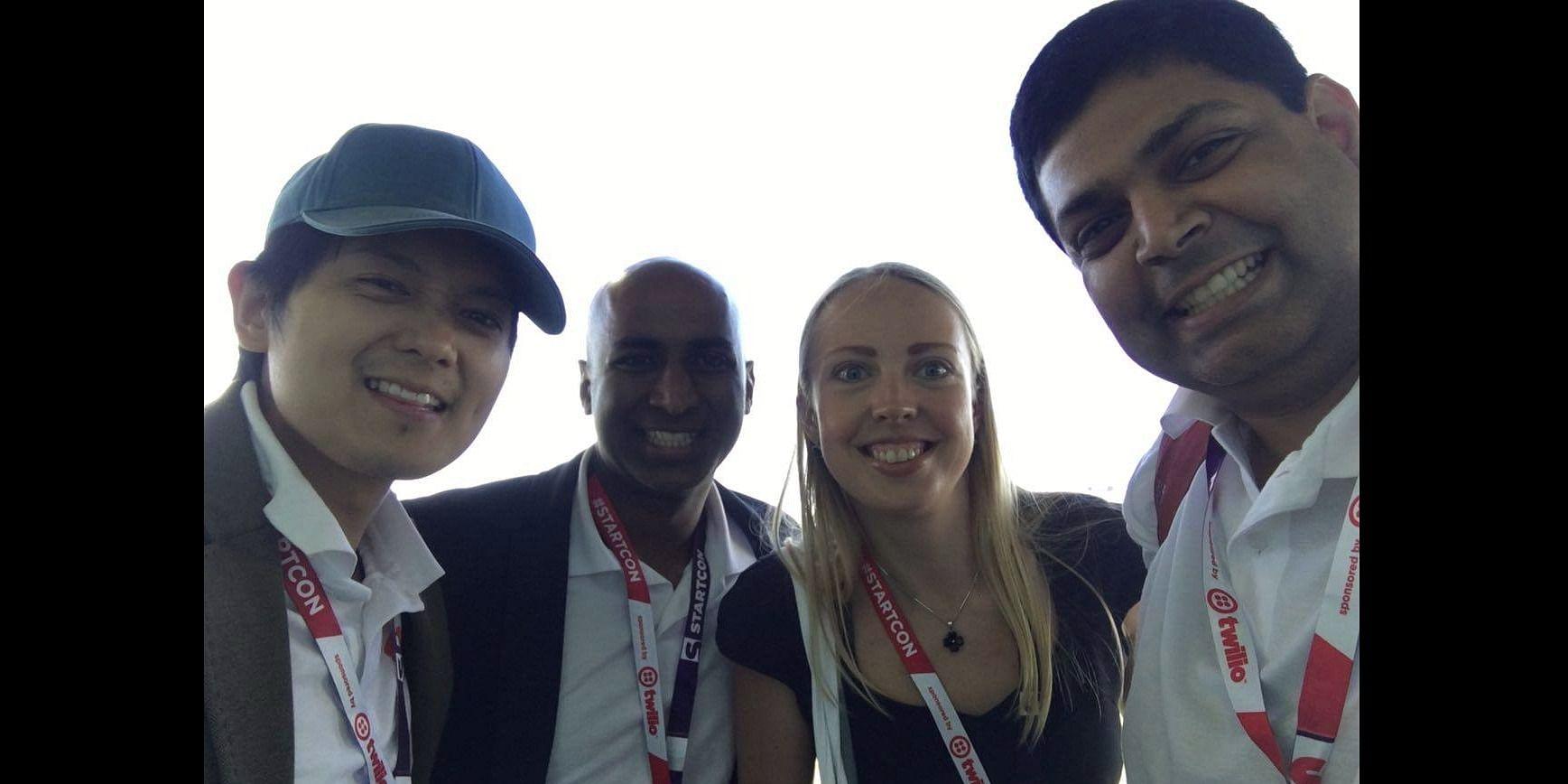 Helping Startups: Hussain at StartCon 2016, Sydney