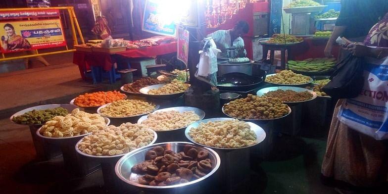 Figure 2 Street Food at Madurai