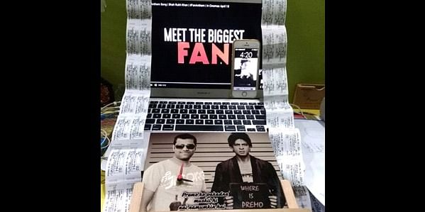 Gearing up with multiple tickets of the movie FAN.