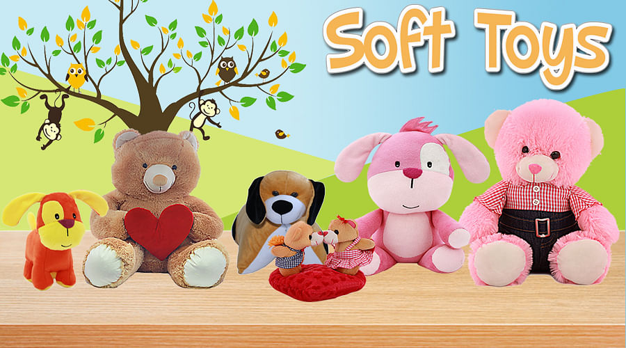 Tomafo.com has a huge collection of soft toys for kids of all ages, be it a baby or a kid of 12+ years of age.