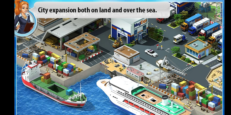 A seaport in Metropolis game