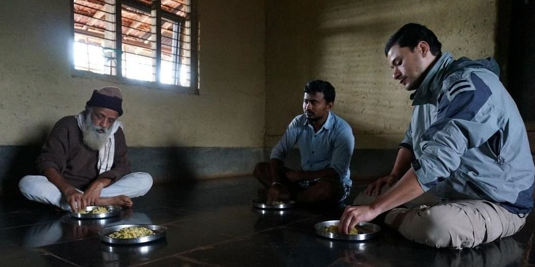 Photo #1: We cooked together breakfast and shared with people from Charaka village.