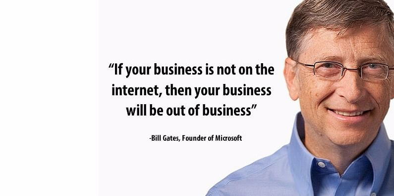 A Famous Quote by Bill Gates