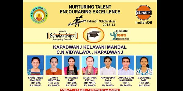 A small initiative making a big difference…(Scholarships for Underprivileged students)