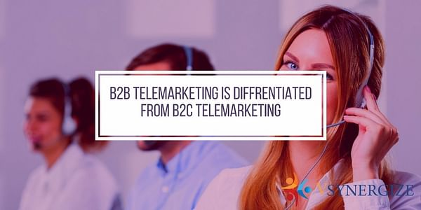 B2B and B2C are the terms originally coined to make a clear sense of difference in the field of Ecommerce businesses, that is involved with direct consumers versus those whose market are other companies.
