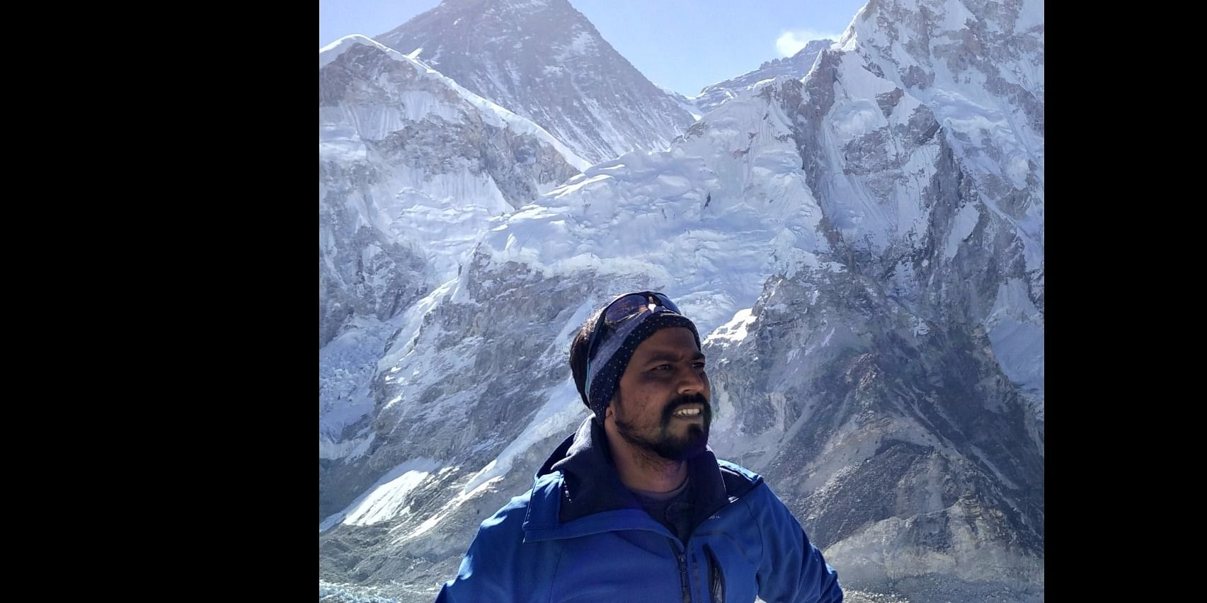 At Mt Everest