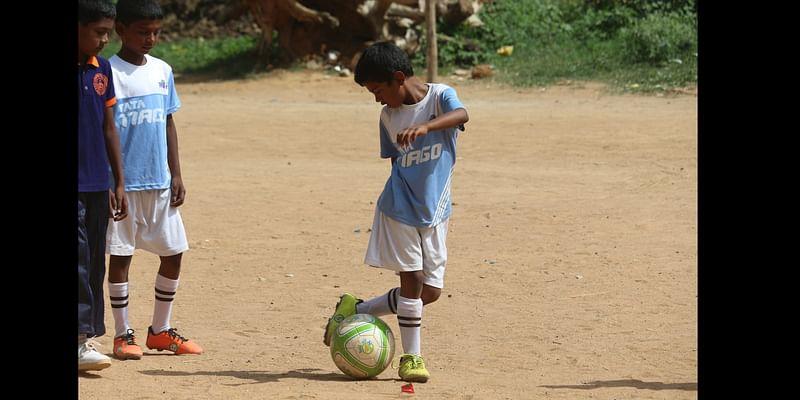 Yogesh, the invincible striker