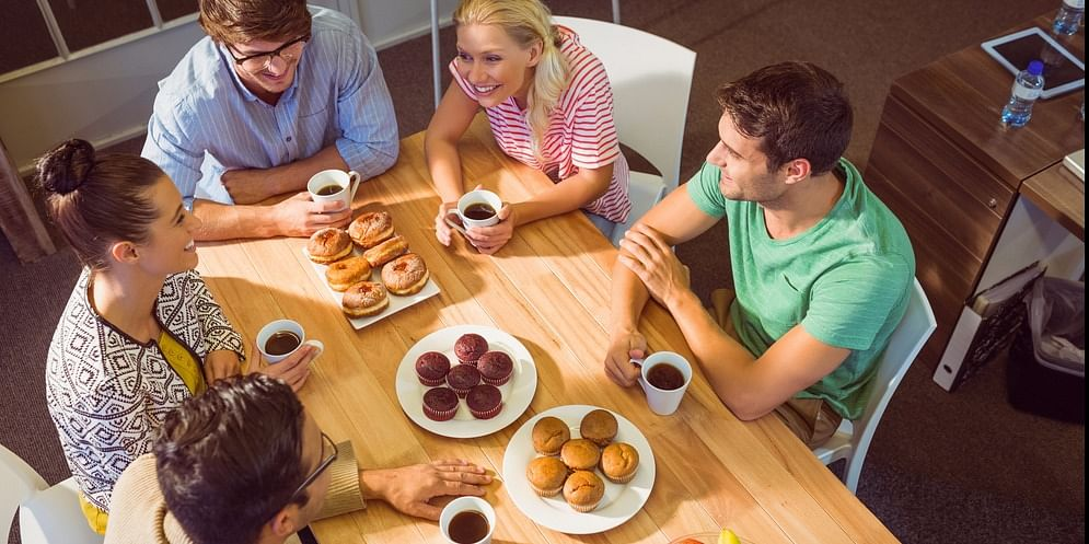 Food is culture. Use it to strengthen  the relationship of your employees for better teamwork.