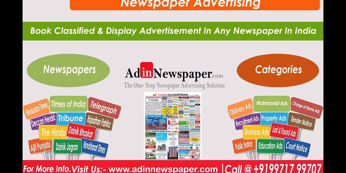 Newspaper Advertising Agency in Delhi
