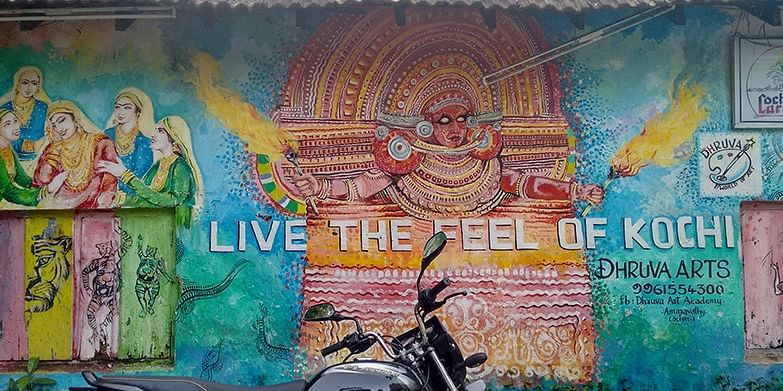 Vibrant Street Art in Fort Kochi