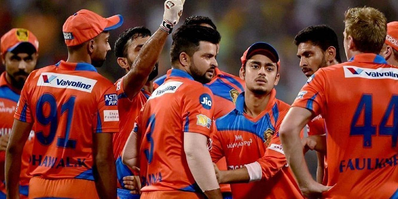 Image: Team Gujarat Lions - Courtesy Google