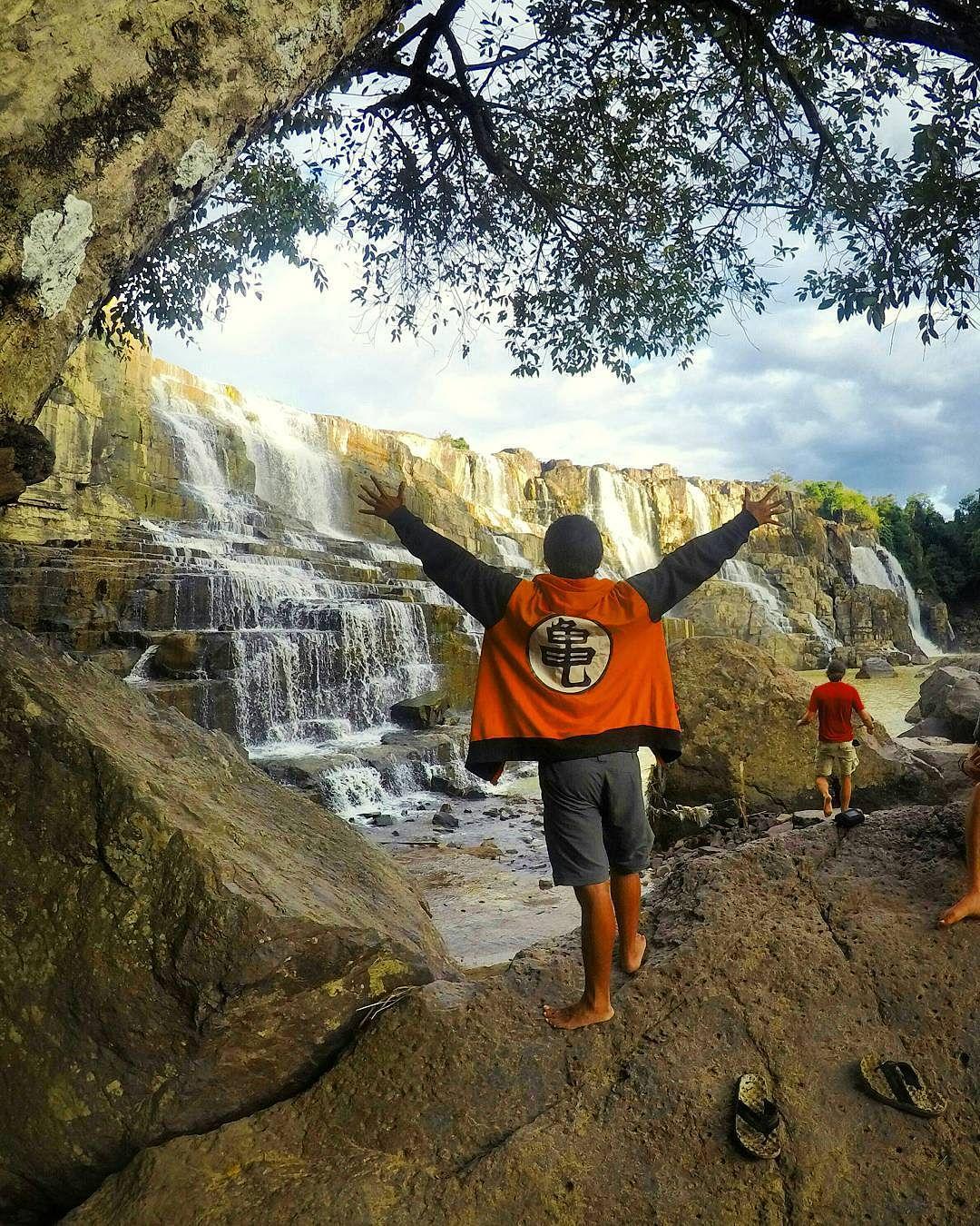 Waterfall In Dalat, Vietnam - Instagram @ThinkTravelLiftGrow