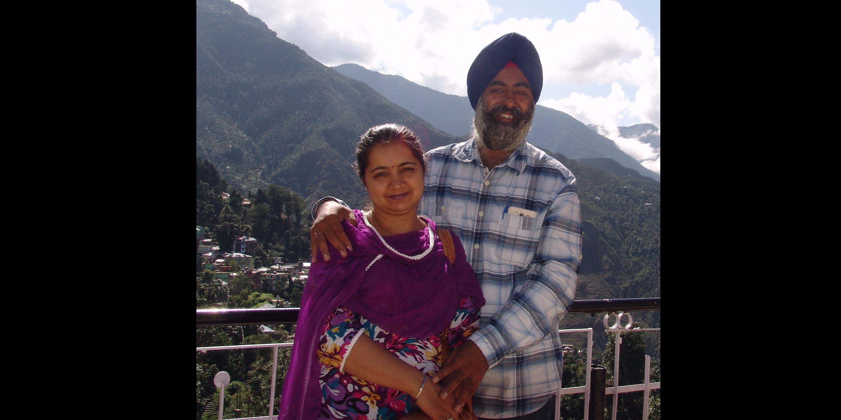 Vripal Singh and Jatinder Raj kaur