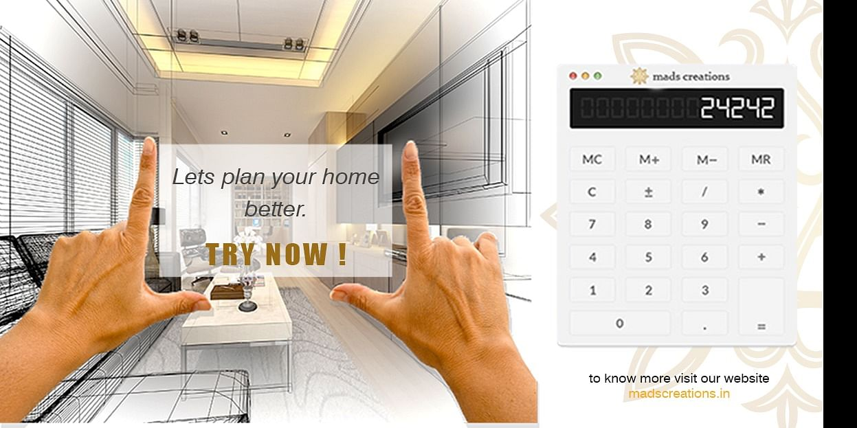 Lets plan your home better with our budget calculator for Interior design. Try Now