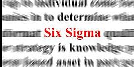 Six Sigma Practices in an Organization<br>