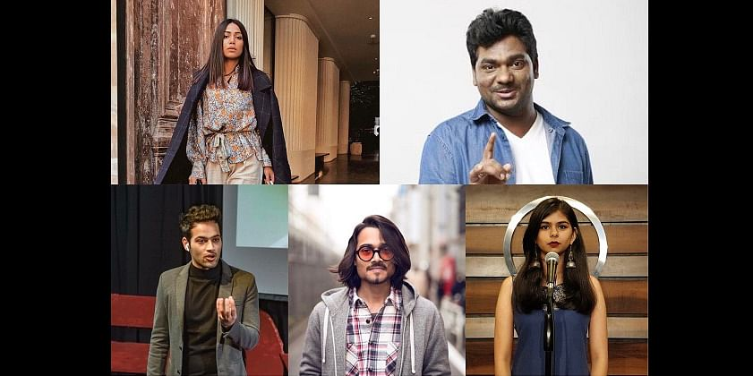 Top 5 young influencers of India