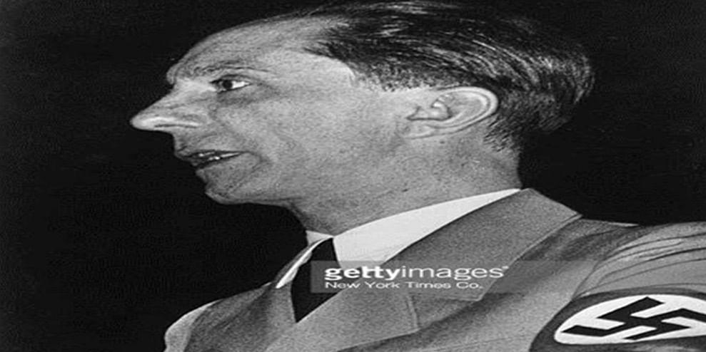 Image result for Joseph Goebbels getty images