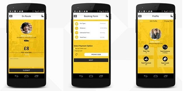 Taxi Mobile App