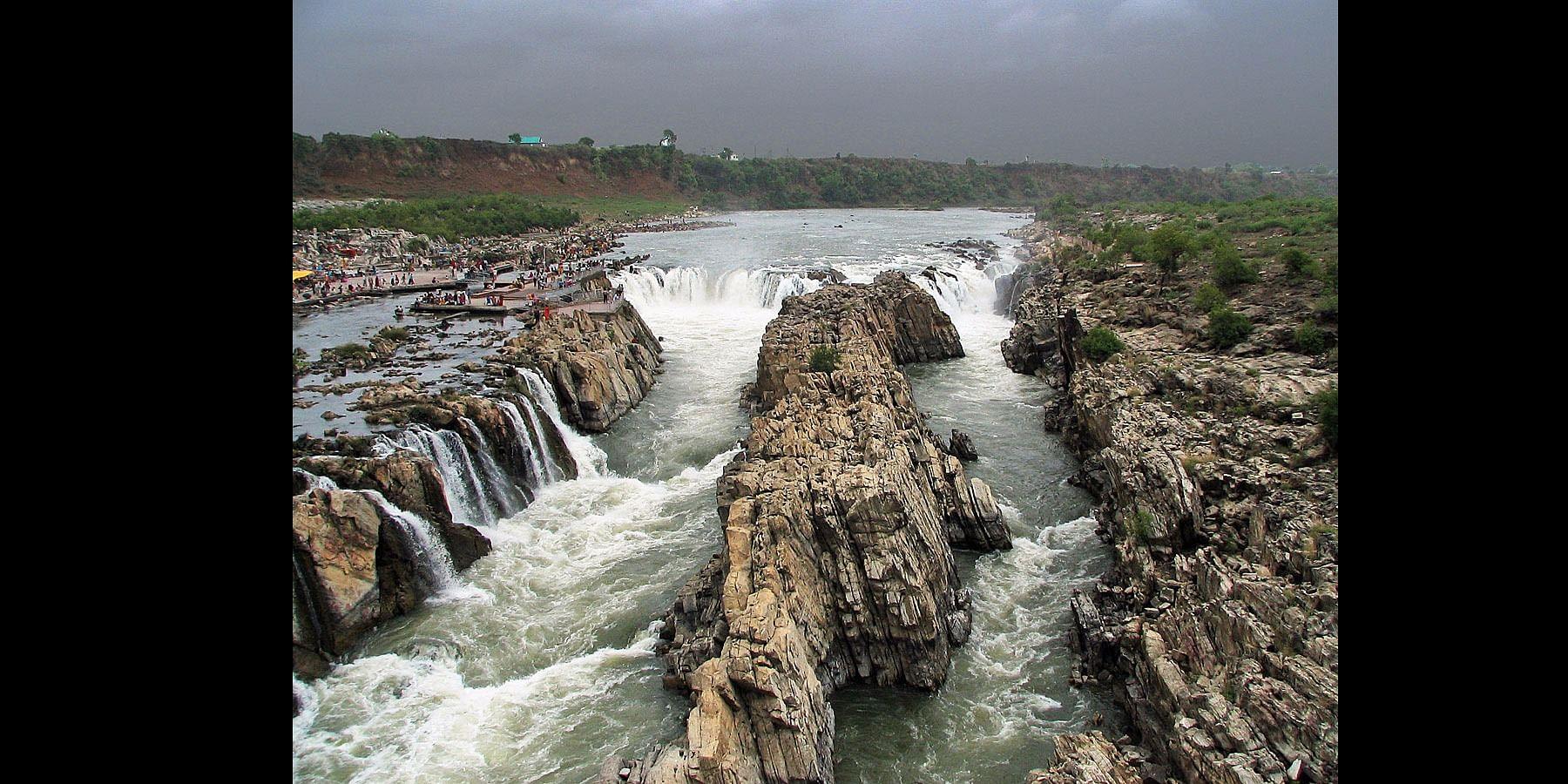 Dhuandhar Waterfalls - Jabalpur, Madhya Pradesh, India