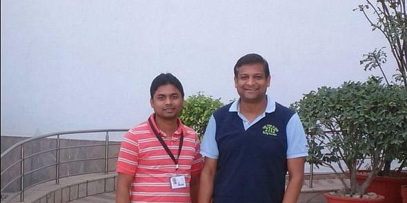 PhD Scholar Lov Kumar from NIT Rourkela with Ashish Sureka (Industry Mentor for Lov Kumar)
