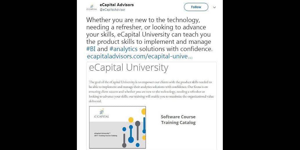 Business Intelligence in Advance Analytics