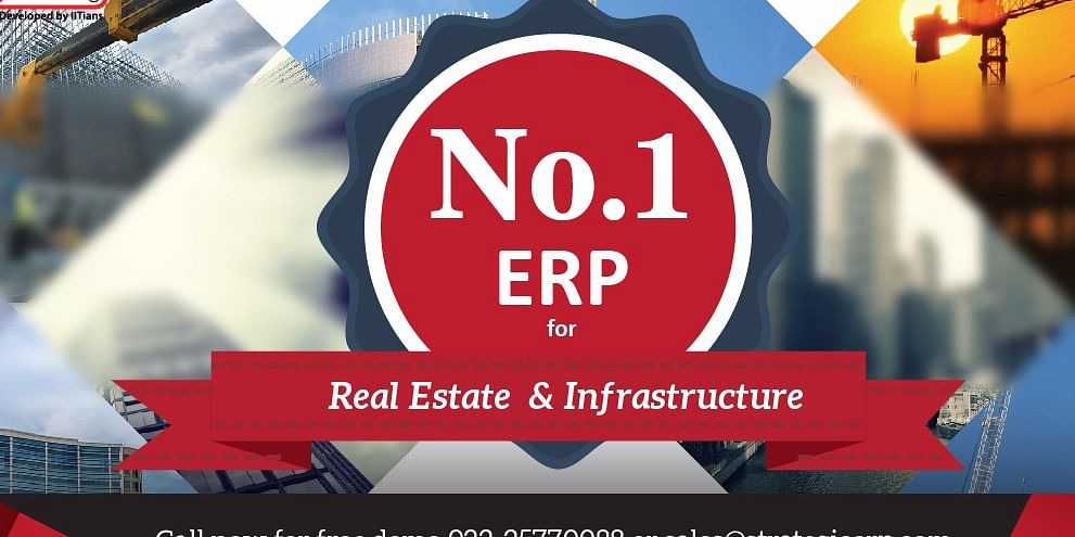 No 1 ERP Software Real Estate &infrastructure