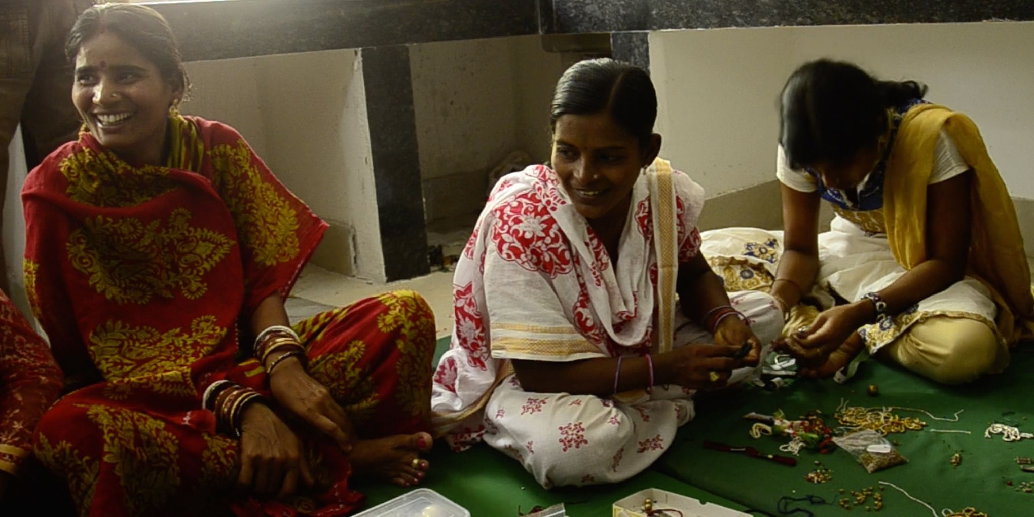 A design intervention workshop with artisans from Dhenkanal, Odisha