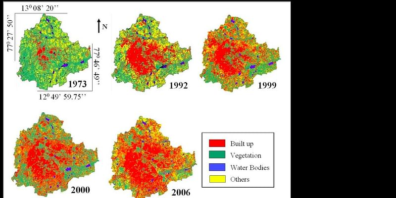 How Bangalore has changed in the past 30 - 40 years!